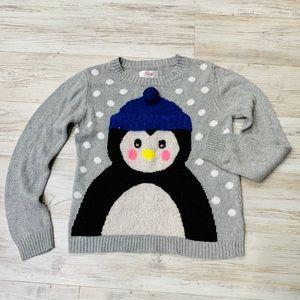 Justice Girls Penguin Sweater